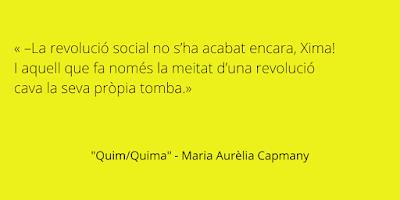 Cita: Quim / Quima - Maria Aurèlia Capmany