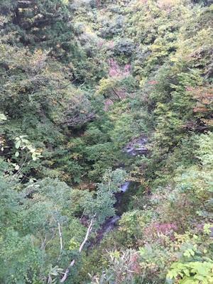 栃尾又付近の佐梨川