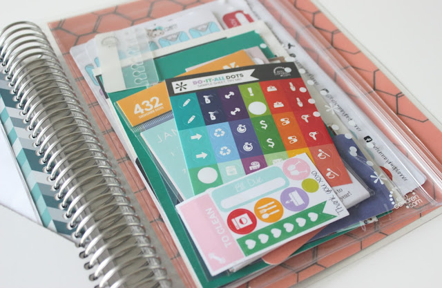 A picture of Erin Condren Vertical Life Planner