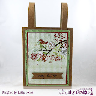 Custom Dies: Card Caddy & Gift Bag, Snowflake Sky, Pierced Rectangles, Treat Tags, Paper Collection: Retro Christmas, Stamp/Die Duos: Deer Ornament