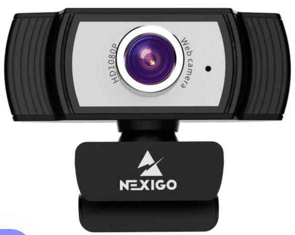 NexiGo Web Camera with Microphone