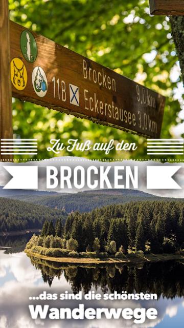 5 Wanderwege auf den Brocken im Harz  Zu Fuß auf den Brocken wandern - Wanderwege auf den Brocken im Überblick 22