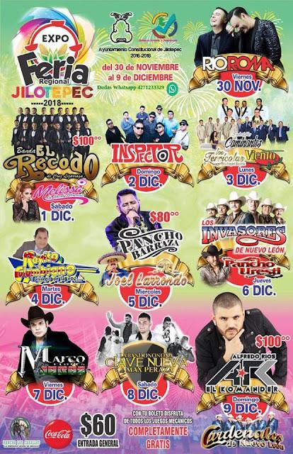programa feria jilotepec 2018