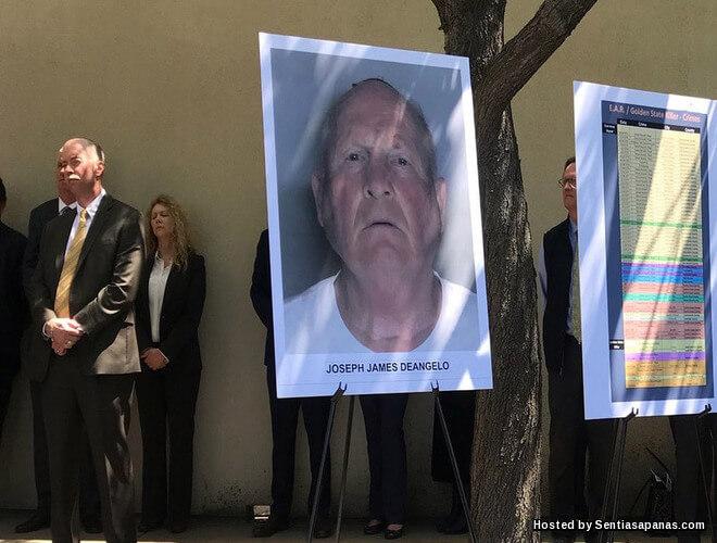 Pembunuh Dan Perogol Bersiri 'Golden State' Akhirnya Berjaya Ditangkap Selepas 40 Tahun!