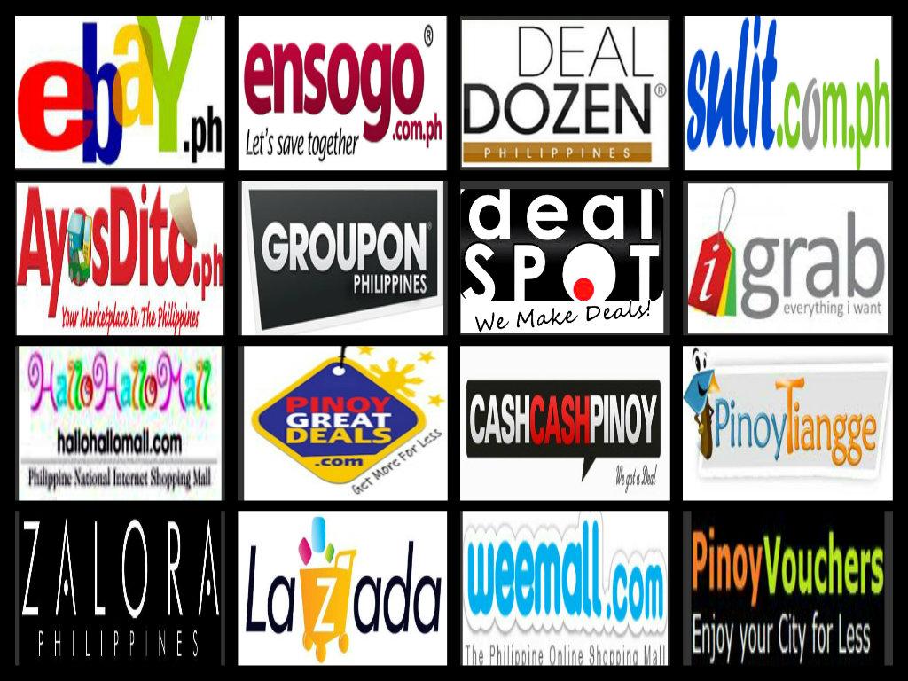 Online shop site list