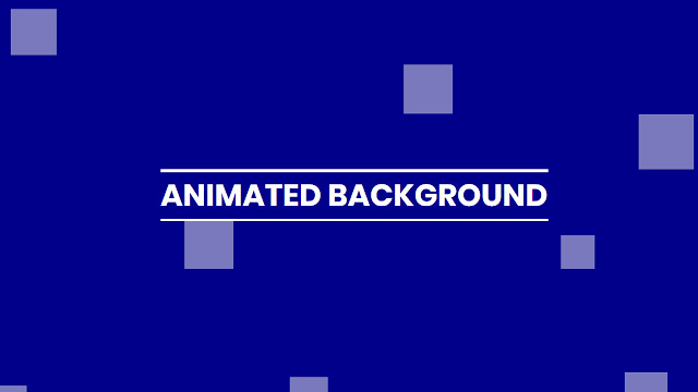 Pure CSS Animated Background Animation | No Javascript no Jquery