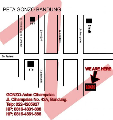 Alamat Gonzo Bandung