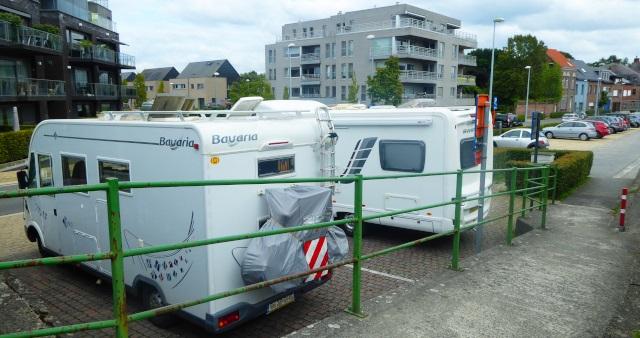 Àrea d'autocaravanes de Sint-Amands