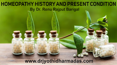 HOMEOPATHY HISTORY AND PRESENT CONDITION
