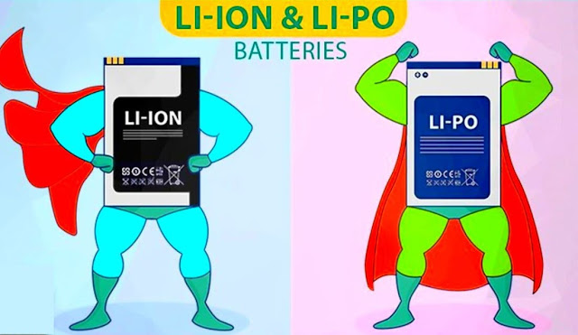 بطارية li poly vs بطارية  li-ion