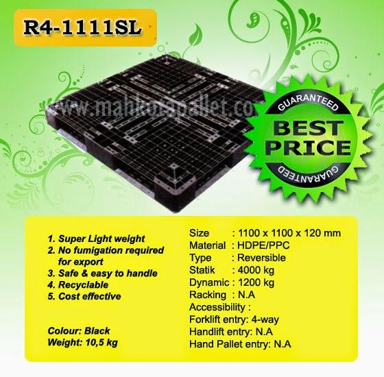 Pallet Plastik R4-1111SL