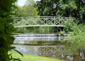 Bridge over the River Piddle, Athelhampton House, Dorset
