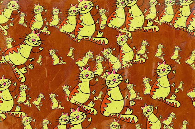 Figure: You're doing meow-vellously – can you count the cats?  51