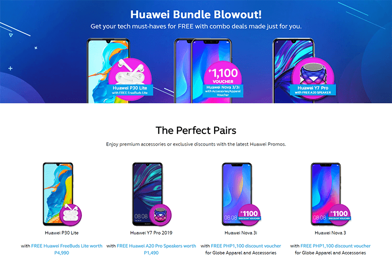 Huawei, Globe reveals promos for select phones!