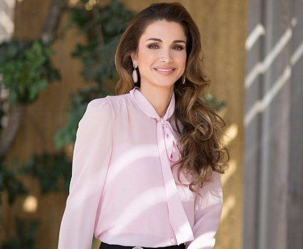 Jordanian Queen Rania Celebrates Her 46th Birthday
