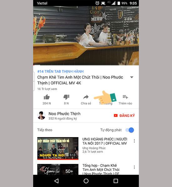 Hướng dẫn download youtube Android tất tần tật từ A đến Z