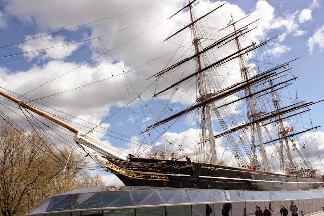 Barco Curry Sark em Greenwich