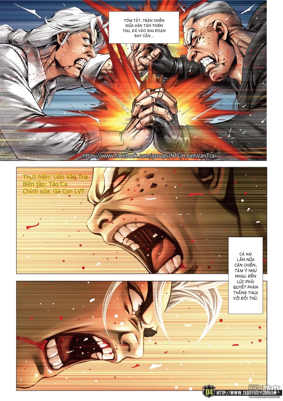 Người Trong Giang Hồ chapter 2052: hàn tân chiến thiên thu 3 trang 3