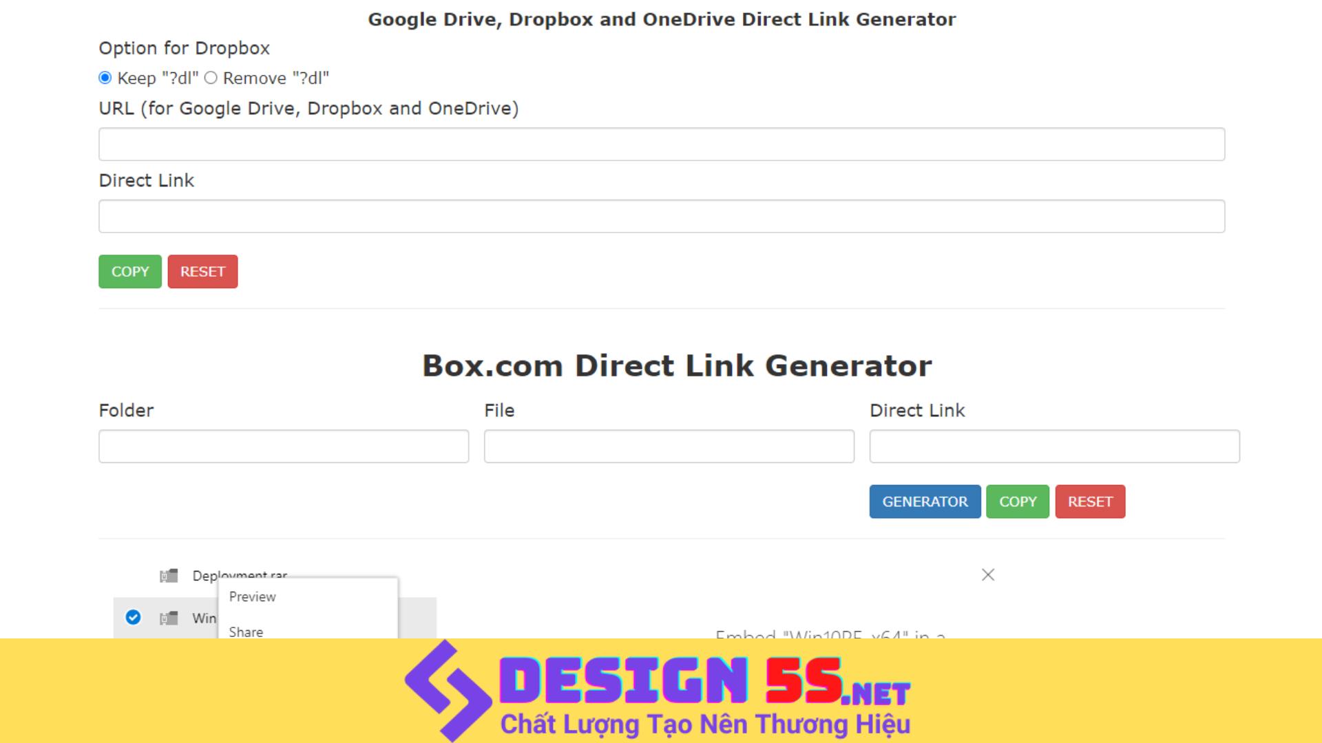 Generator Template blogspot (Google Drive, Dropbox,...) - Ảnh 2