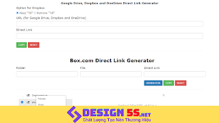 Generator Template blogspot (Google Drive, Dropbox,...) - Ảnh 1