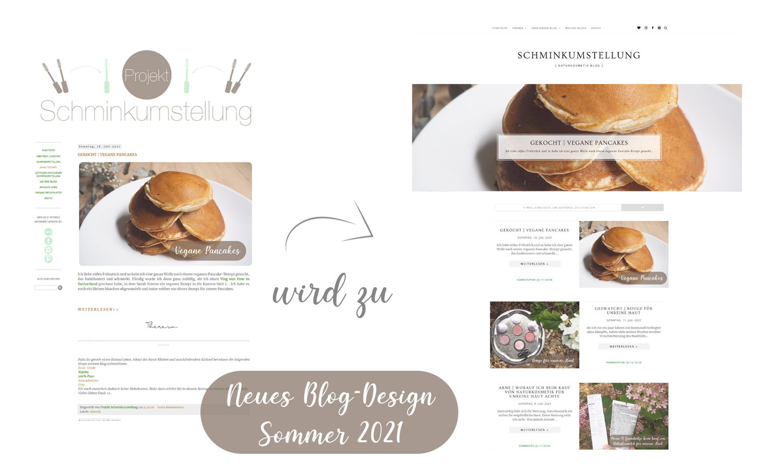 Neues Blogdesign - Blogspot Modern Minimalistic Theme