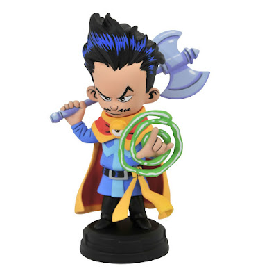Doctor Strange Animated Marvel Mini Statue by Skottie Young x Gentle Giant x Diamond Select Toys