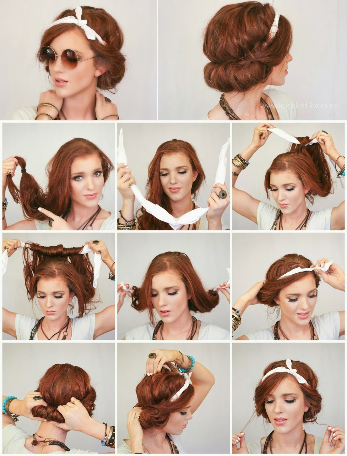 Headscarf Roll