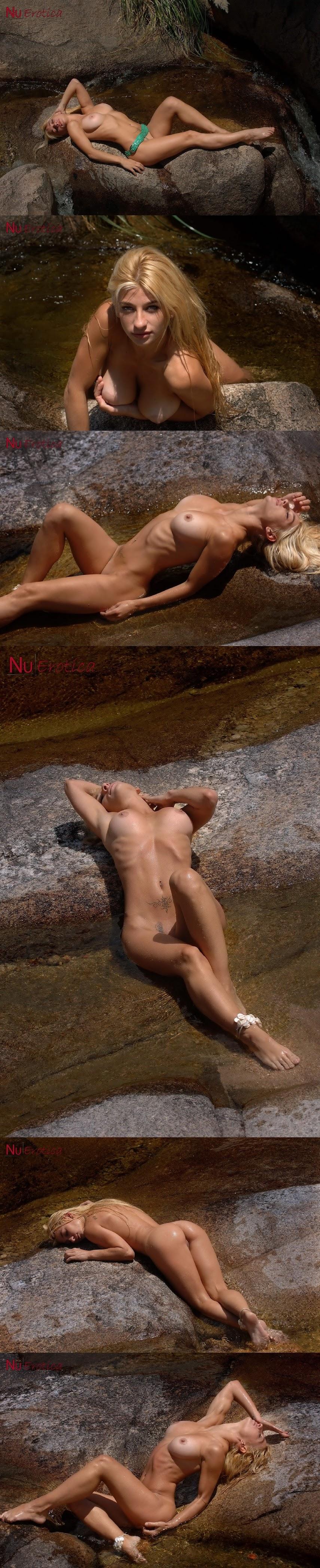 NuErotica 2015-10-28 Aldana Golden - Aldana Perfect Ass On Rocks