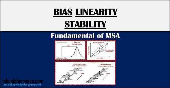 What is Bias Linearity and Stability in Measurement?