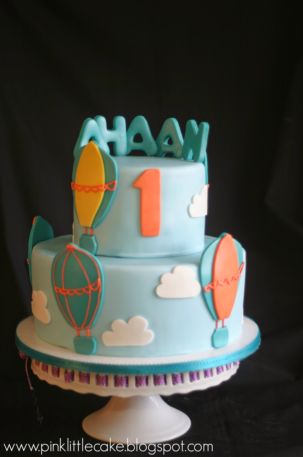 How To Make A Hot Air Balloon Cake Topper