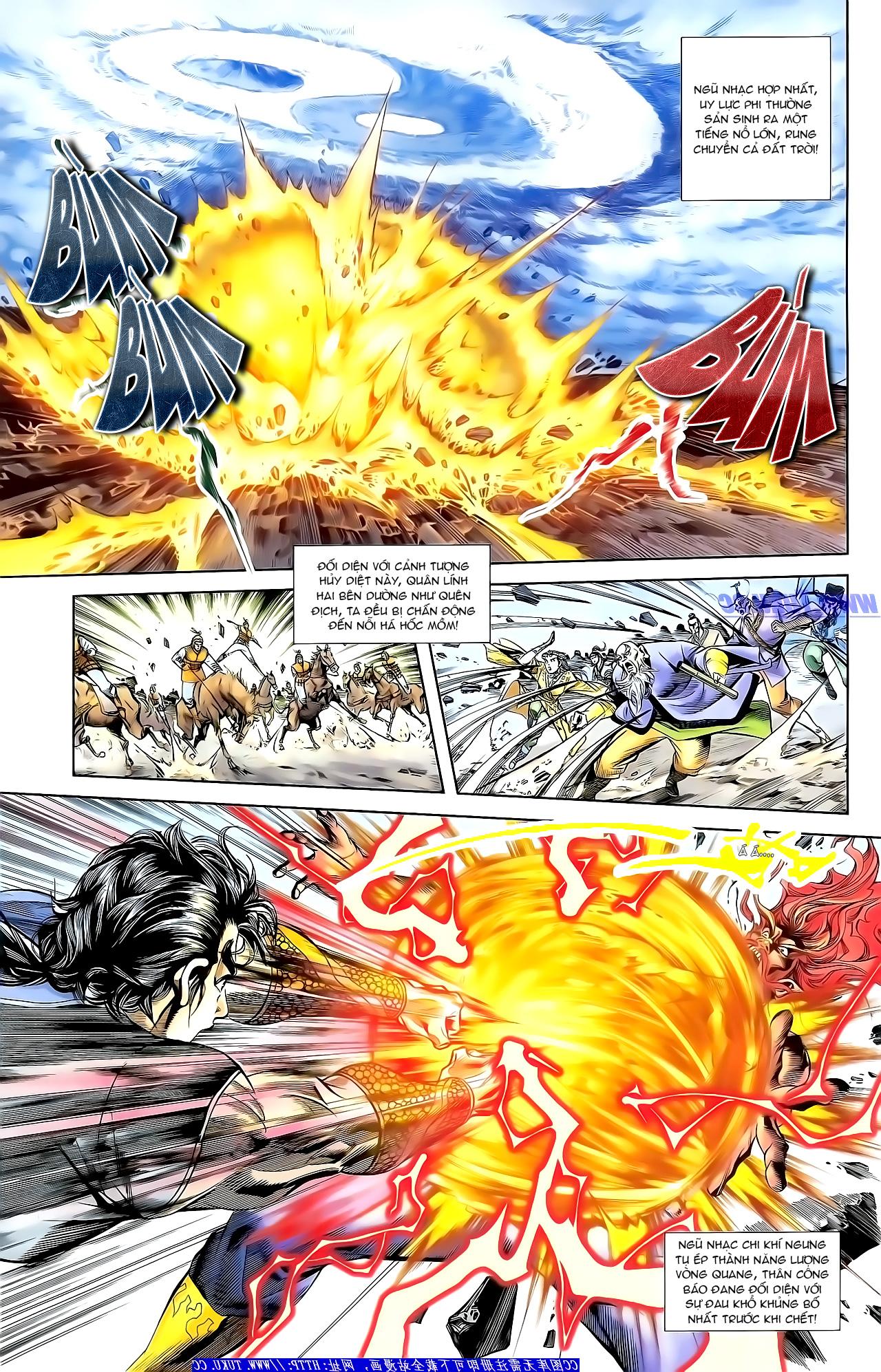 Cơ Phát Khai Chu Bản chapter 159 trang 15