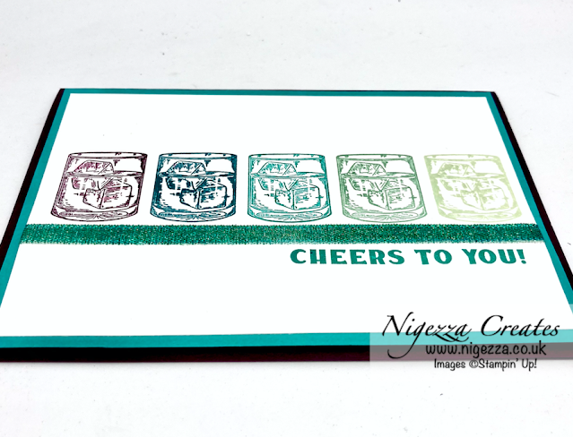 Cheers Card Using The Stamparatus Hinge Step