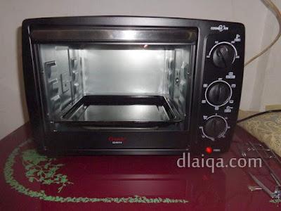 siapkan dan panaskan oven