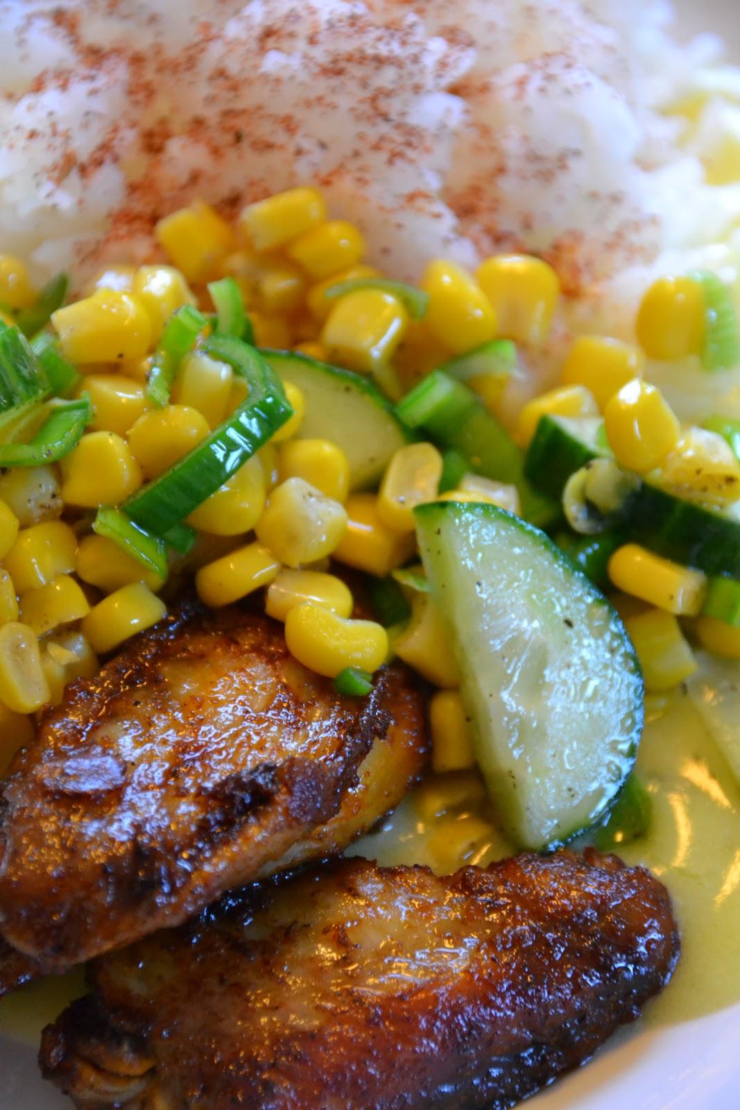 Kyllingvinger Med Ris