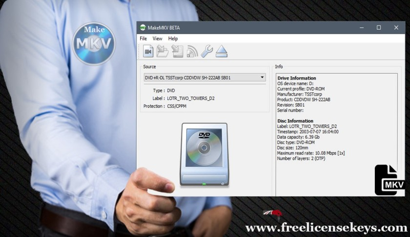 Free MakeMKV Key and Registration Code [2020-2019]