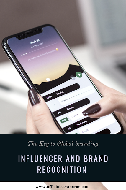 Global branding, influencers and buyers