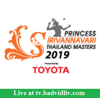 Thailand Masters 2019 live streaming