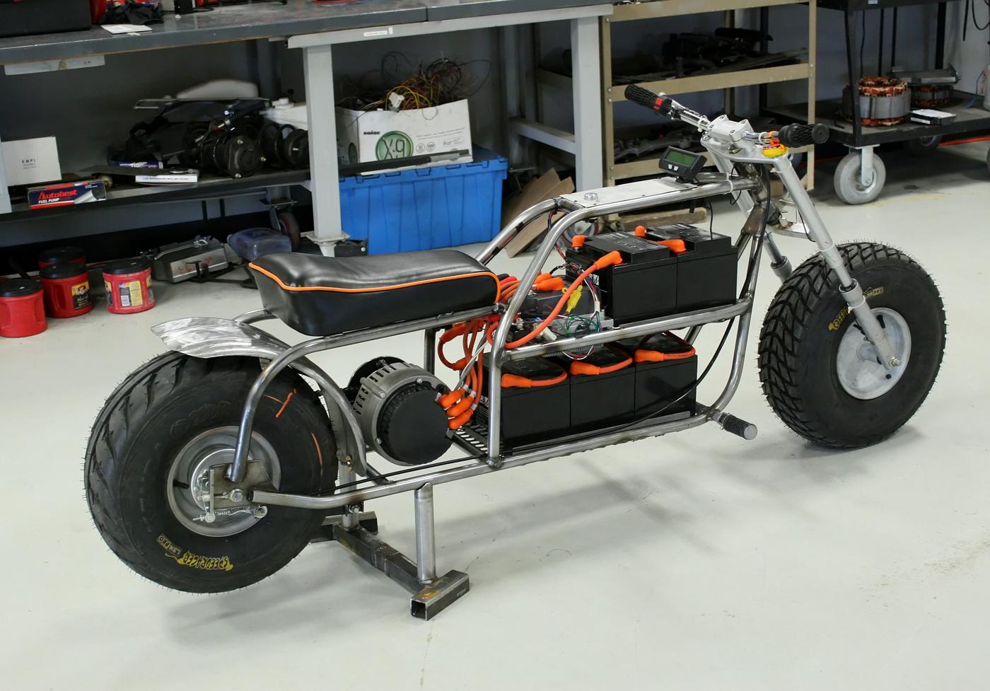 Ss on Drag Mini Bike