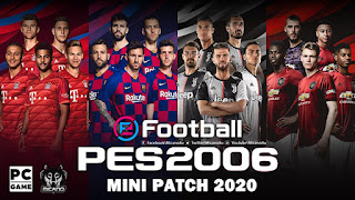 PES 6 eFootball PES 2020 Edition Mini Patch 125 MB