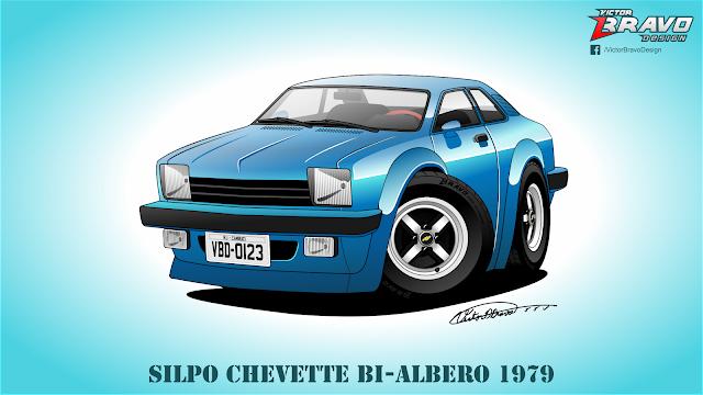 Silpo Chevette Bi-albero 1979