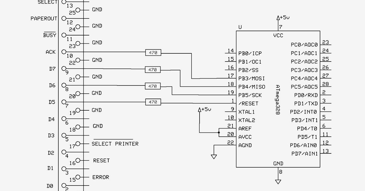 Ham Radio MIPL: Bootloading/Burning hex file to Atmega328 using Parallel port