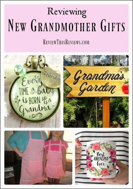 Enjoy this review of several fabulous gift ideas for a new grandmother. | ReviewThisReviews.com