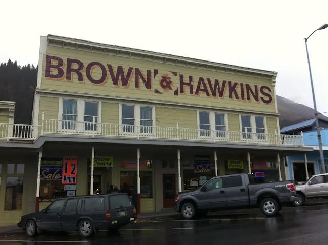 Brown & Hawkins in Seward, Alaska