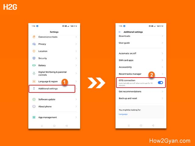 how-to-connect-otg-in-realme-c3