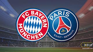 بث مباشر مباراة بايرن ميونخ وباريس سان جيرمان في نهائي دوري أبطال أوروبا