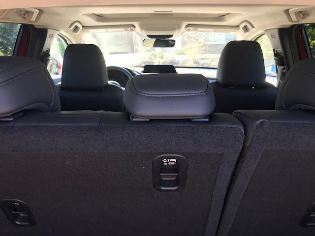 Interior view of 2020 Mazda CX-30 AWD Premium