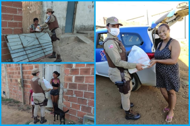 Base Comunitária reforça alimentação de famílias em Conquista