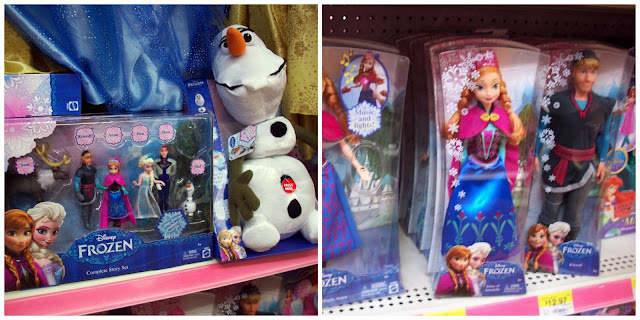 FROZEN Toys at Walmart #FrozenFun #shop #cbias