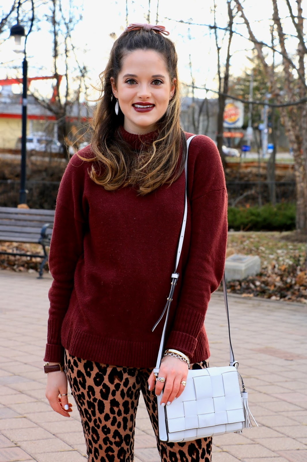 Nyc fashion blogger Kathleen Harper's Valentine's Day makeup