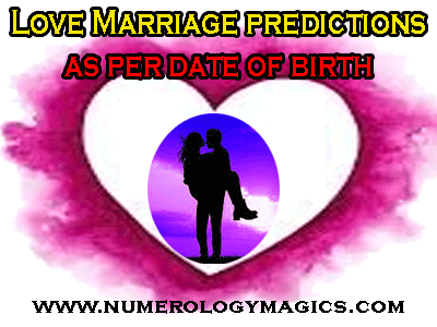 love marriages as per date of birth in numerology by best numerologist in ujjain